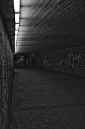 Enough light in the underpass