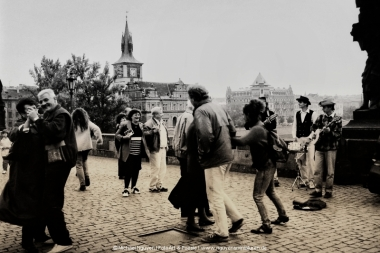 Prag: Happy people